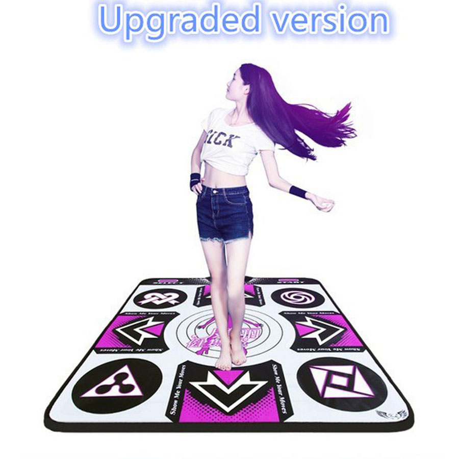 KL Dance Pad English Menu 11 mm Thickness Dancing Pads Single Fitness Yoga  Mat With 2 Remote Controller Sense Game For PC TV 92e891836