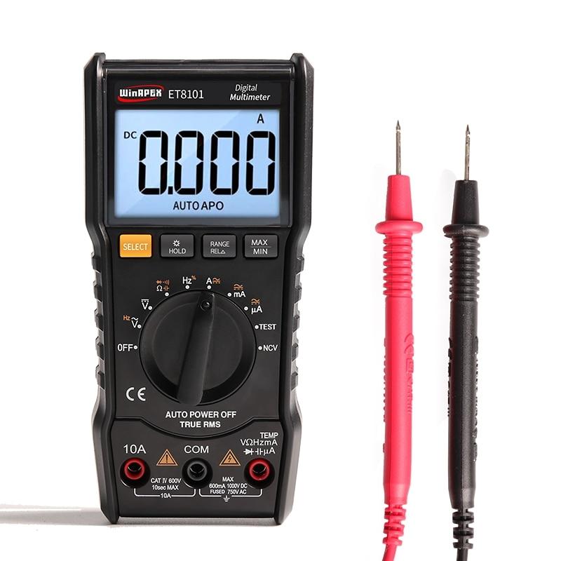 5999 Counts Proster Multimetro Digitale 5999 Count Auto-Ranging//Multimetro