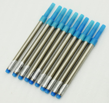 10 PCS Jinhao Rollerball Pen Ink Refills for Pens , Screw Type 0.7 Mm - Blue Color