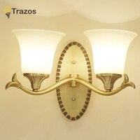 Nordic Style Wall Lamp 8W 12W Bronze Mirror Light Waterproof Bathroom Dresser Acrylic LED Lights Home Fixture Sconce Lighting