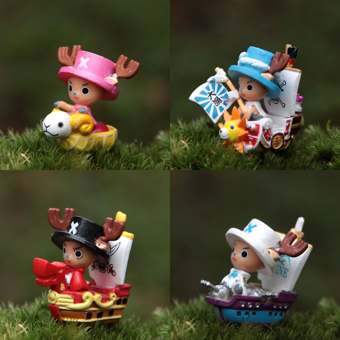 Toys & Hobbies Huong Anime One Piece 10cm Tony Tony Chopper Pirates Of The Flag Action Figure Collection Toys Christmas Gift