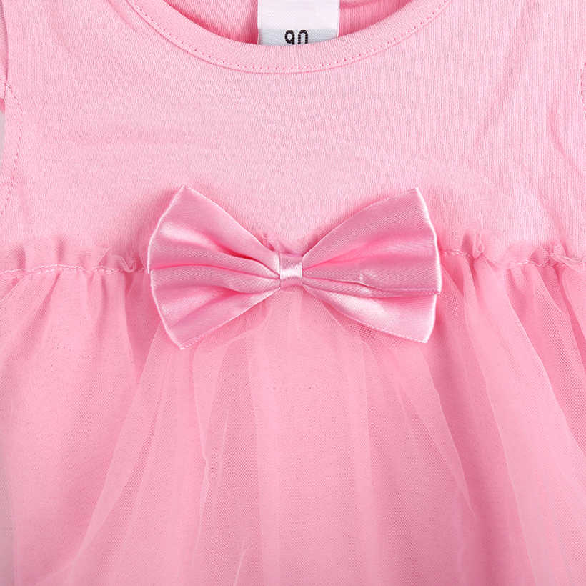7cf13acd39c ... TANGUOANT Hot Sale NewBorn Baby Dress Summer Cotton Bow Baby Rompers  For girls Summer Kids Infant ...
