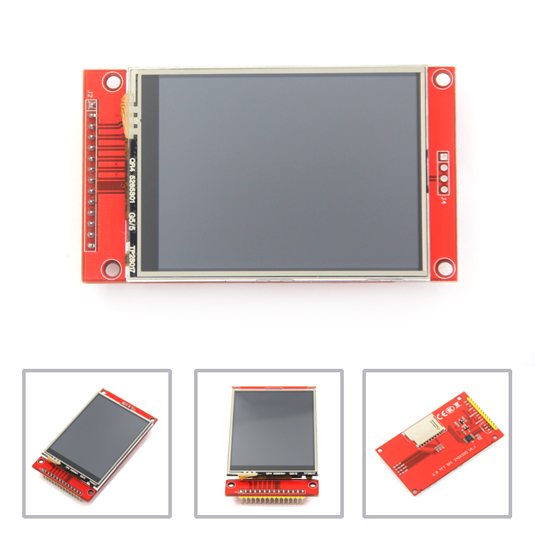"J34 F85 240x320 2.8"" SPI TFT LCD Touch Panel Serial Port Module with PCB ILI9341 5V/3.3V"