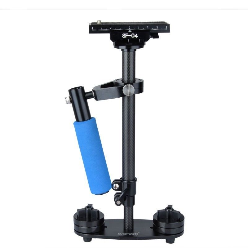 SF-04 S40 40CM Carbon Fiber Steadicam Steadycam Stabilizer For Sony Canon Nikon GoPro AEE DSLR Video Camera Interview Camcorder sf 04 mini handheld carbon fiber video camera stabilizer grip with quick release plate for sony pentax canon nikon dslr cameras