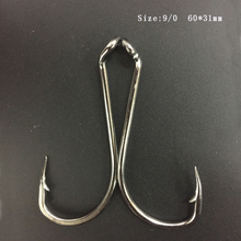 CN05 50 pieces Pack 9/0 Mustad Fishing Hook Stainless Steel Octopus Fishing Hook Mustad Fish Hook