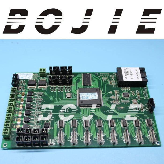 Original and brand new jhf vista eco solvent printer printhead board for Konica head original printer printhead mainfold eco solvent print head capping cover for roland rs640 740 sj1045ex sj1000 vp300 vp540 xc540