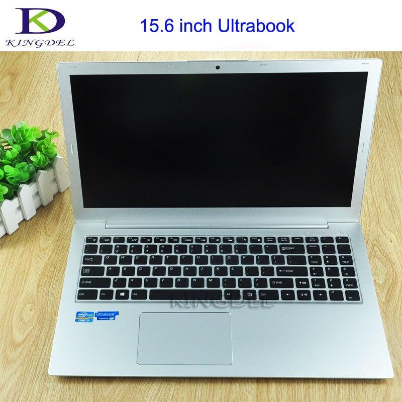 i7 Laptop PC 15 6 FHD Screen Ultrabook Core i7 6500U Ultraslim Notebook with Backlit keyboard