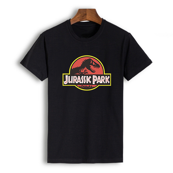 100% Cotton except gray anime t shirt men jurassic park t-shirt streetwear tshirt summer top tee shirts man tops comics