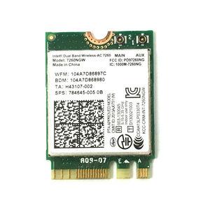 Image 2 - PCi Express 7260AC 2.4 グラム/5 グラムデュアルバンド 7260HMW 867 150mbps のワイヤレス PCI E Wi Fi 、ブルートゥース 4.0 7260 WIFI カードデスクトップ AC 7260 WLAN