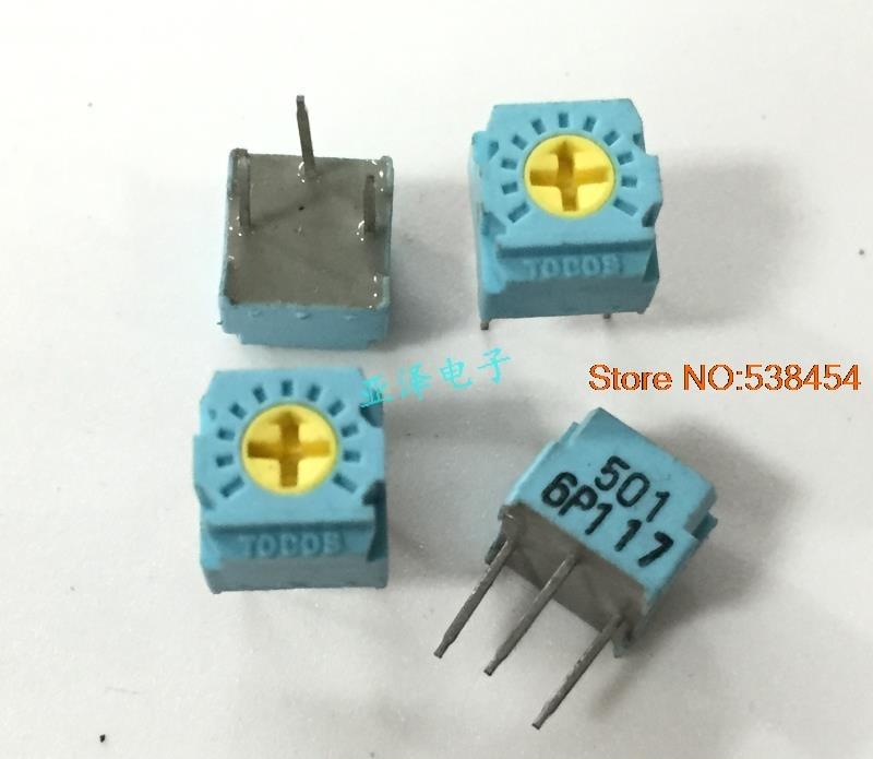30pcs 3362 Precision Trimmer Potentiometer Switch 500ohm