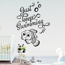 Cute English Sentences Wall Sticker Pvc Art Stickers Modern Fashion Wallsticker For Kids Rooms Decal Home Decor