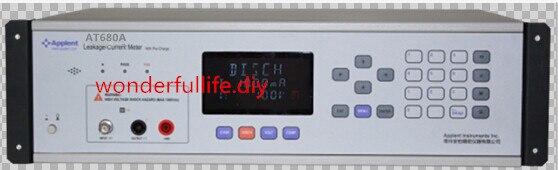 Plage de mesure d'appareil de contrôle de compteur de courant de fuite de condensateur superbe (LC) 0.001nA-200mA 1.0VDC ~ 10VDC