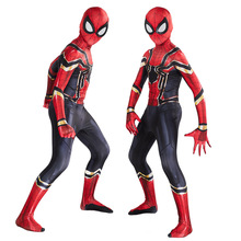 Cosplay Spider-Man uniform  Marvel Spider-Man: Far From Home Use for all ages Halloween costume цена