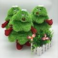 Горячие продажи Отец Рождественская Елка Light-Up Игрушки Xmas Партия Плюшевые Игрушки Санта Новогоднее Украшение Игрушки Рождество Капот