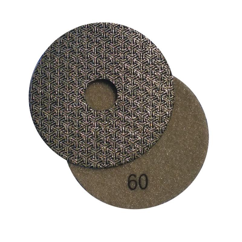 Electroplated Diamond Polishing Pad Glass Concrete Stone Wet Dry Sandpaper for Glass Concrete Marble Stone Granite Sanding
