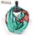 [KentoCandy] хэллоуин подарок хиджаб череп печати бесконечность шарф женщины зима платки bufandas cachecol bufanda mujer femme 201