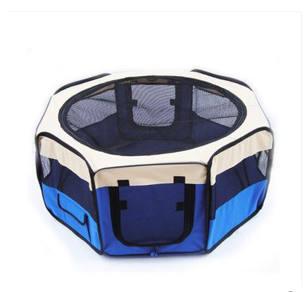 Eight surface dogs fence portable surface tent tent pet cat litter dog kennel dog in the  sc 1 st  AliExpress.com & Eight surface dogs fence portable surface tent tent pet cat litter ...