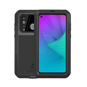Image 5 - Love Mei Brand Case For Samsung Galaxy A9 A6 A8 Plus 2018 S10 Plus S10E S10 5G A70 2019 Metal Armor Shockproof Phone Cover Shell