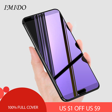 Full Cover Anti Blue Screen Protector for Huawei Honor V8 V9 Play V10 Anti-Blue Purple Light Tempered Glass Film View 20