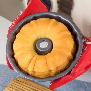 Image 1 - 9 pollici di Cottura Pan Teglia Da Forno Vassoi In Acciaio Pane Cuocere Forme Padelle Cookie Torte Stampo Forno A Microonde Piatto di Cucina Strumento di Cottura accessori