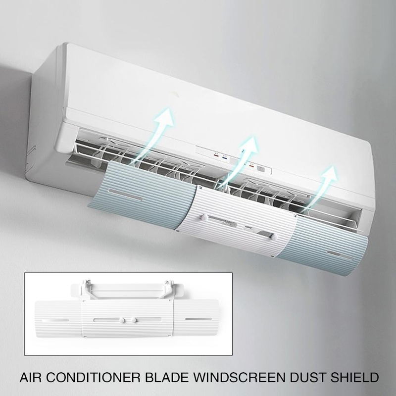 Home Air Conditioning Adjustable Windshield Baffle Anti-wind Shields Wind Guide Straight Shield Air Conditioner DeflectorHome Air Conditioning Adjustable Windshield Baffle Anti-wind Shields Wind Guide Straight Shield Air Conditioner Deflector
