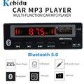 Kebidu USB 3,5 мм AUX Bluetooth V5.0 Mp3 декодер плата модуль FM-радио беспроводной приемник MP3-плеер 5 в 12 В музыкальный динамик автомобильный комплект
