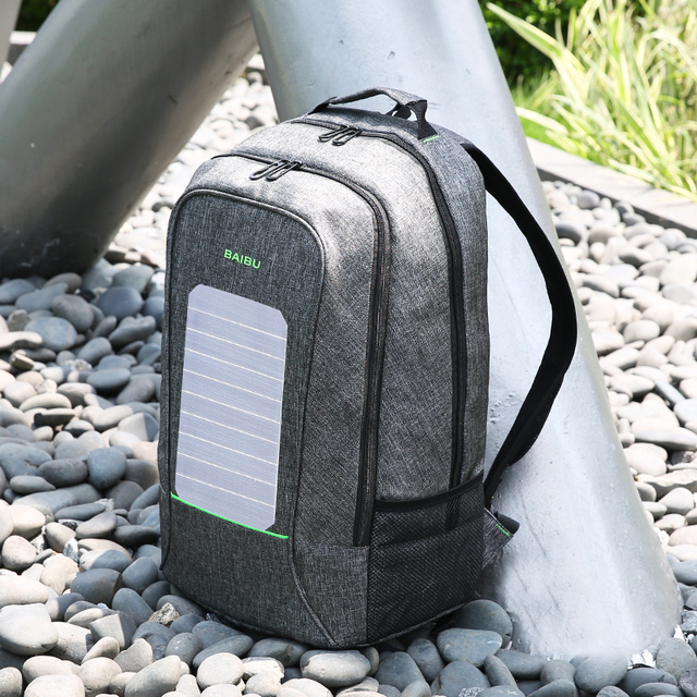 Solar Backpack USB Charger  1