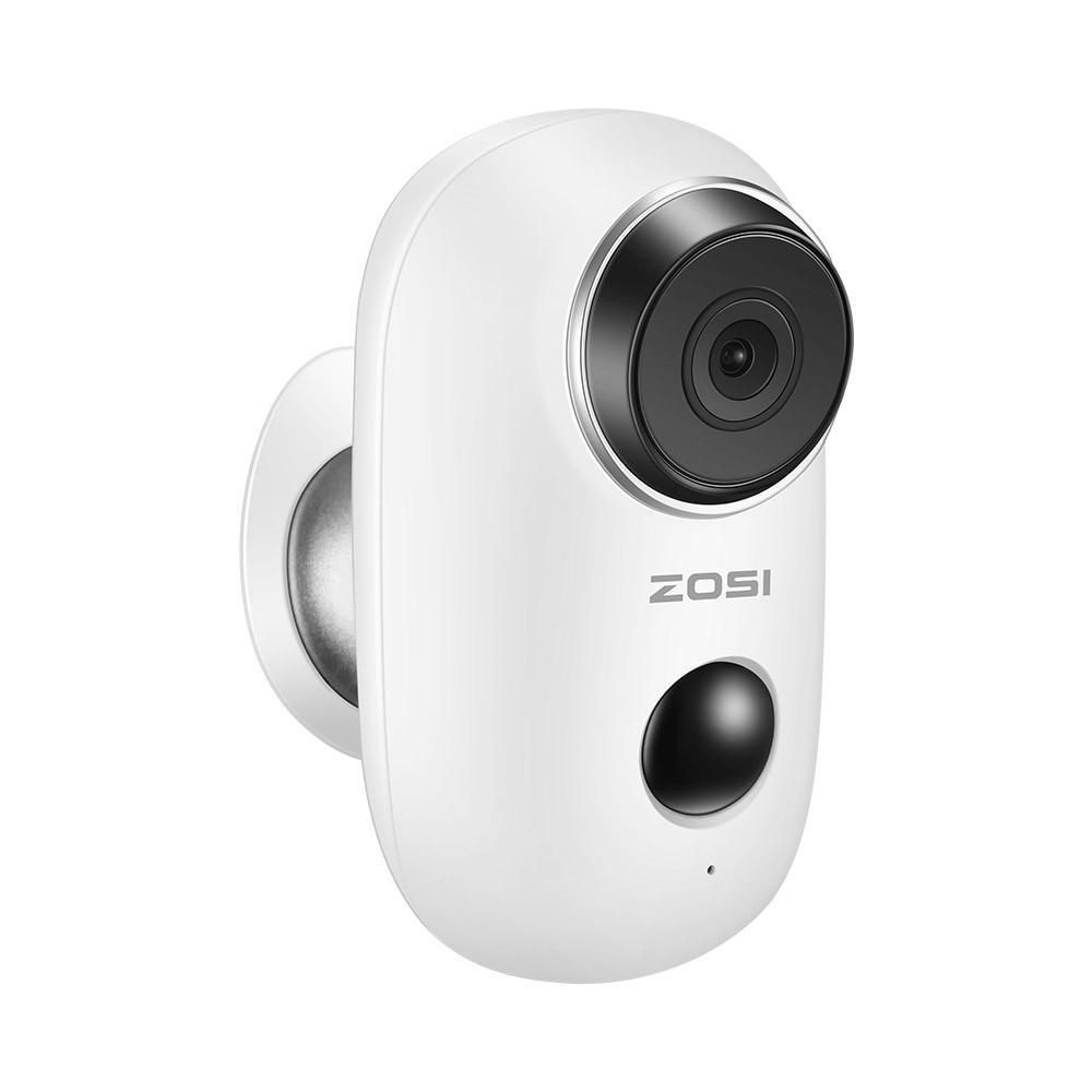 ZOSI 100 Wire Free Rechargeable Battery IP Wifi Camera 720P Outdoor Indoor Weatherproof IP65 CCTV Security