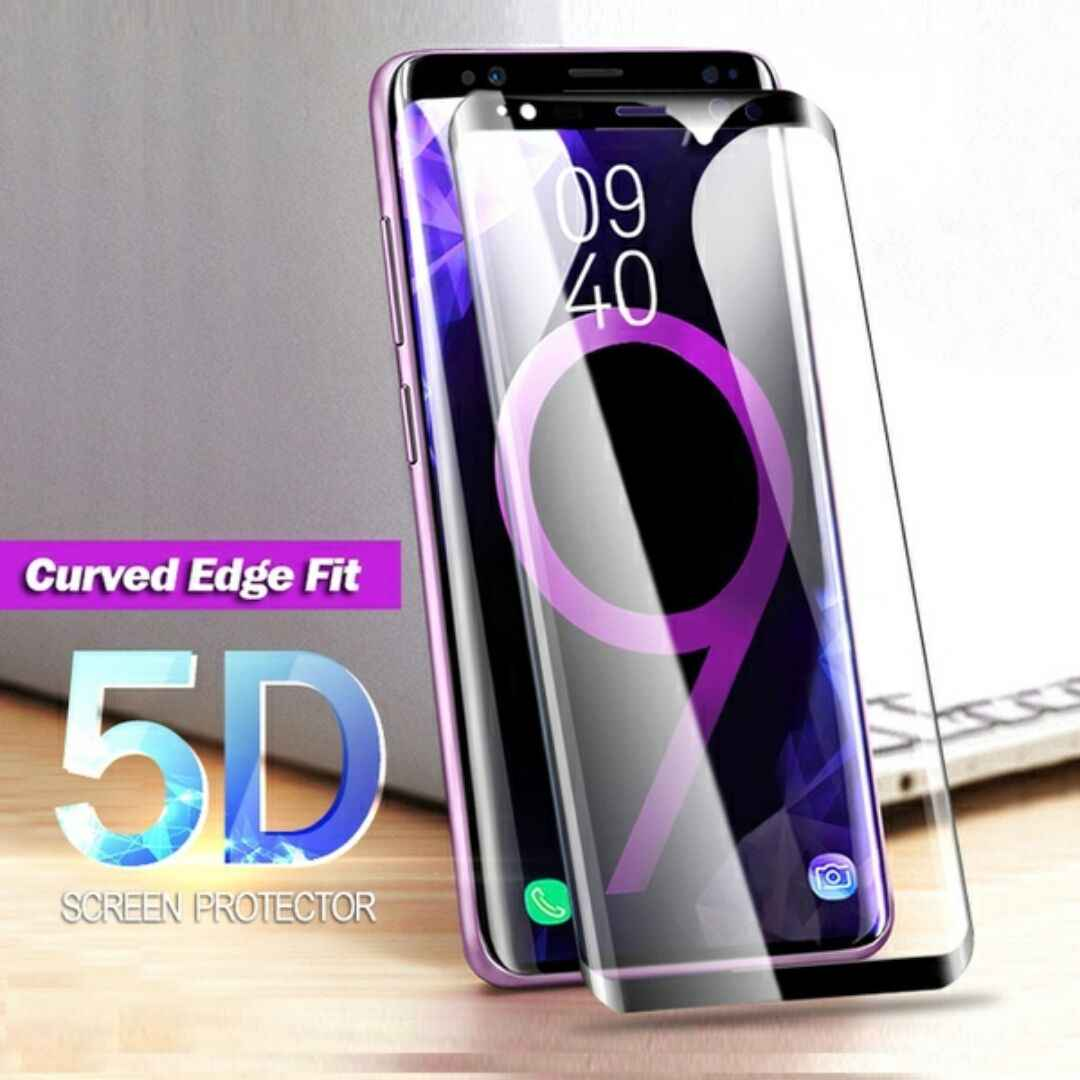 5D Full Cover Tempered Glass for Samsung Galaxy A7 2018 Protective Glass for Samsung A7 2018 A750 Screen Protector Film A50 A70