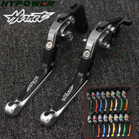 Laser Logo (Hornet)CNC Silver Adjustable Motorcycle Brake Clutch Levers For Honda CB900 CB 900 Hornet 2002 2006 2003 2004 2005