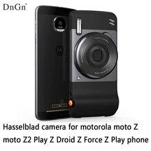 Dngn Hasselblad камера для Motorola Moto Z2 играть Z Droid Z Force Z Play Z телефон 10x оптический зум Магнитная адсорбции Бесплатная доставка