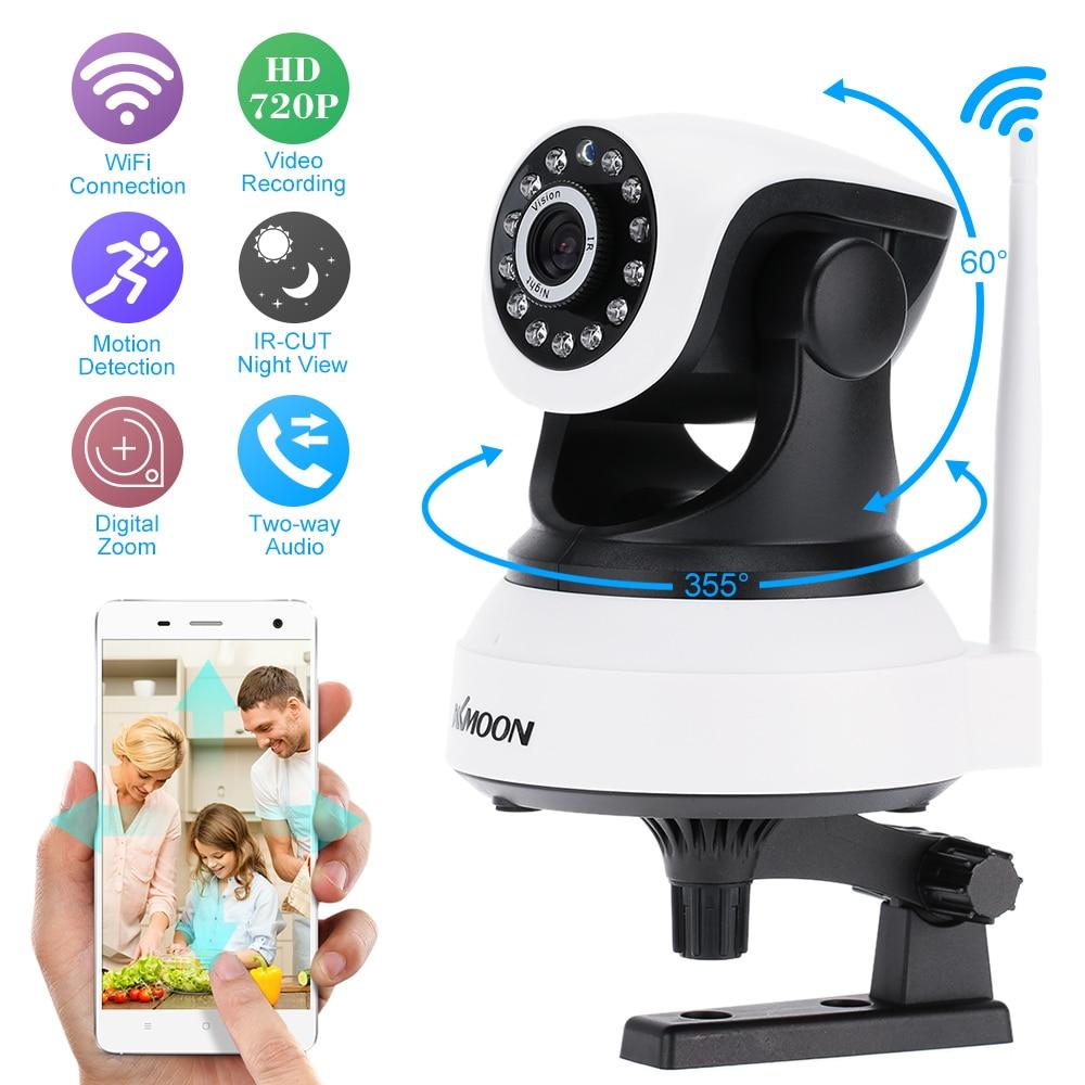 bilder für KKmoon HD Drahtlose Wifi Ip-kamera 720 P IR Nachtsicht P2P Onvif Überwachungskamera Audio Aufnahme Ip-kamera Wifi Unterstützung Tf-karte