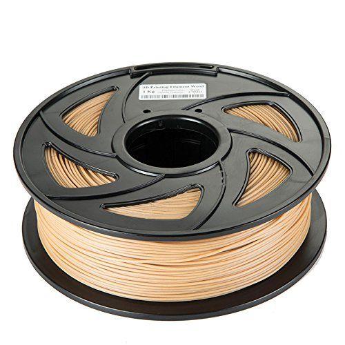 1.75mm PLA Wood 3D Printer Filament (2.2 lbs spool/1kg) стоимость