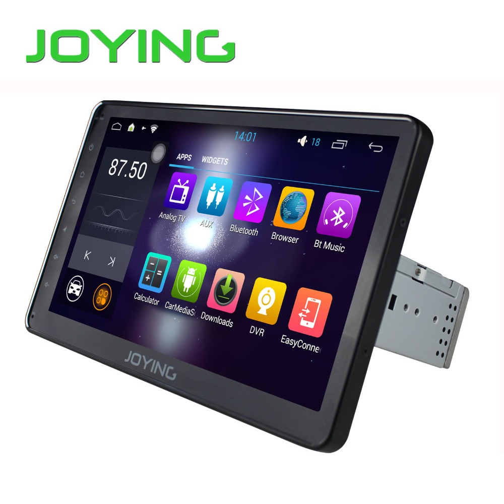 Quad Core Pure 10 1 inch screen Single 1 din Universal car dvd player font b