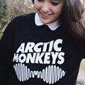 Киви Женщин Весна Arctic Monkeys Вскользь Печатных Hipster Музыка Punk Стиль Толстовки Moletom Harajuku Длинным Рукавом Кофты