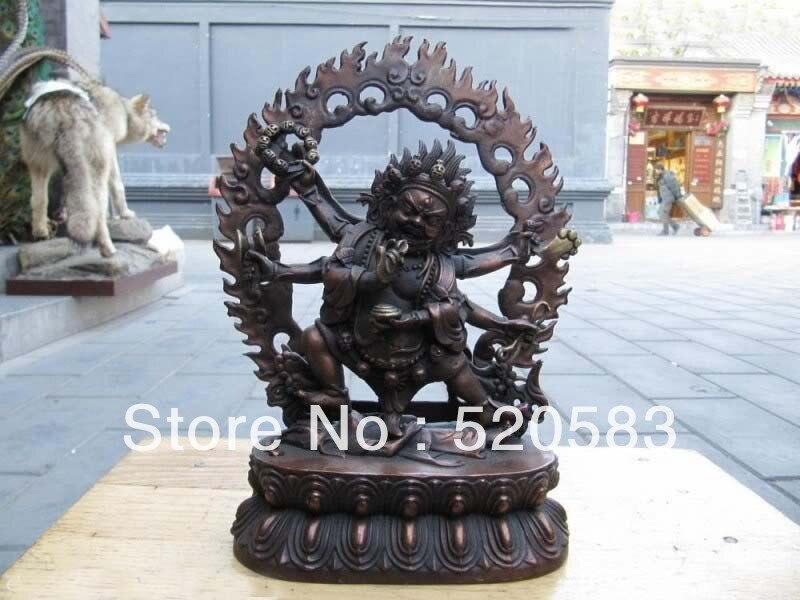 10 la cina Buddismo Fane Bronzo Vajra Vajradhara Sei Braccio Mani statua di buddha10 la cina Buddismo Fane Bronzo Vajra Vajradhara Sei Braccio Mani statua di buddha