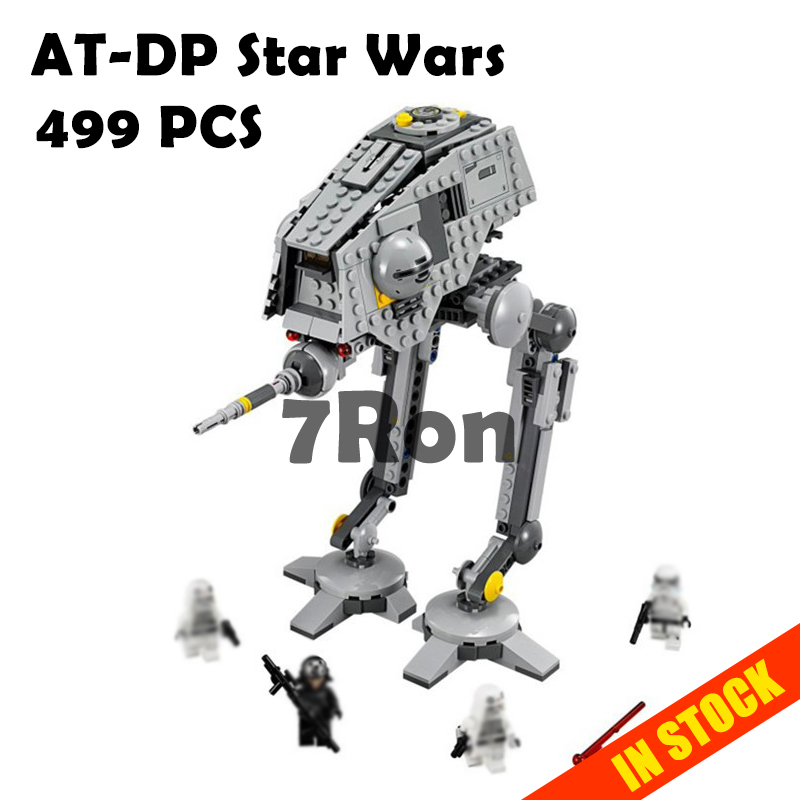Rogue One imperial AT-ST Walker AT-DP star wars compatible with lego 75083 figures model Building Blocks brick diy toys gift kid [jkela]499pcs new star wars at dp building blocks toys gift rebels animated tv series compatible with legoingly starwars page 1