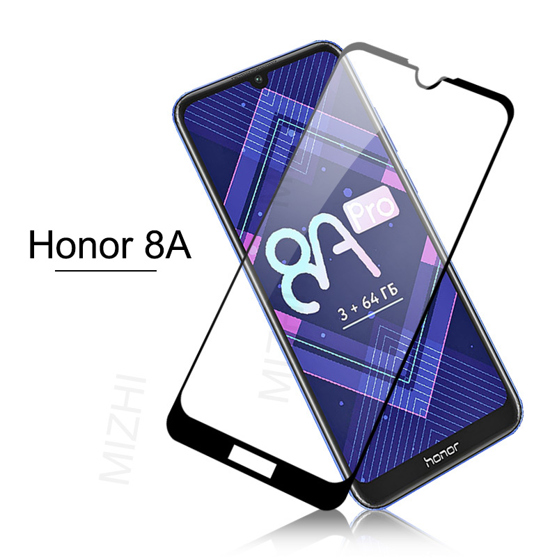 Protective Glass For Huawei Honor 8a Case Tempered Glass For Huawei Honor 8a Honor8a A8 8 A Prime 6.09 JAT-LX1 Screen Cover Film