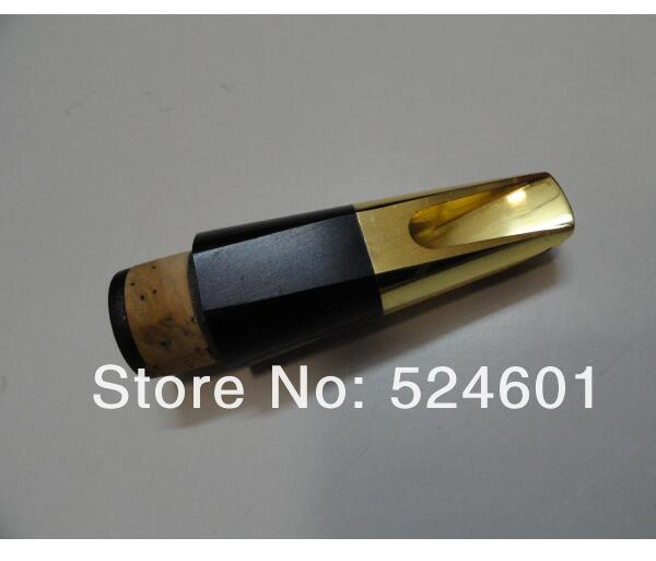 Wholesale -B the clarinet mouthpiece metal surface plating gold size .6 clarinet mouthpiece the b