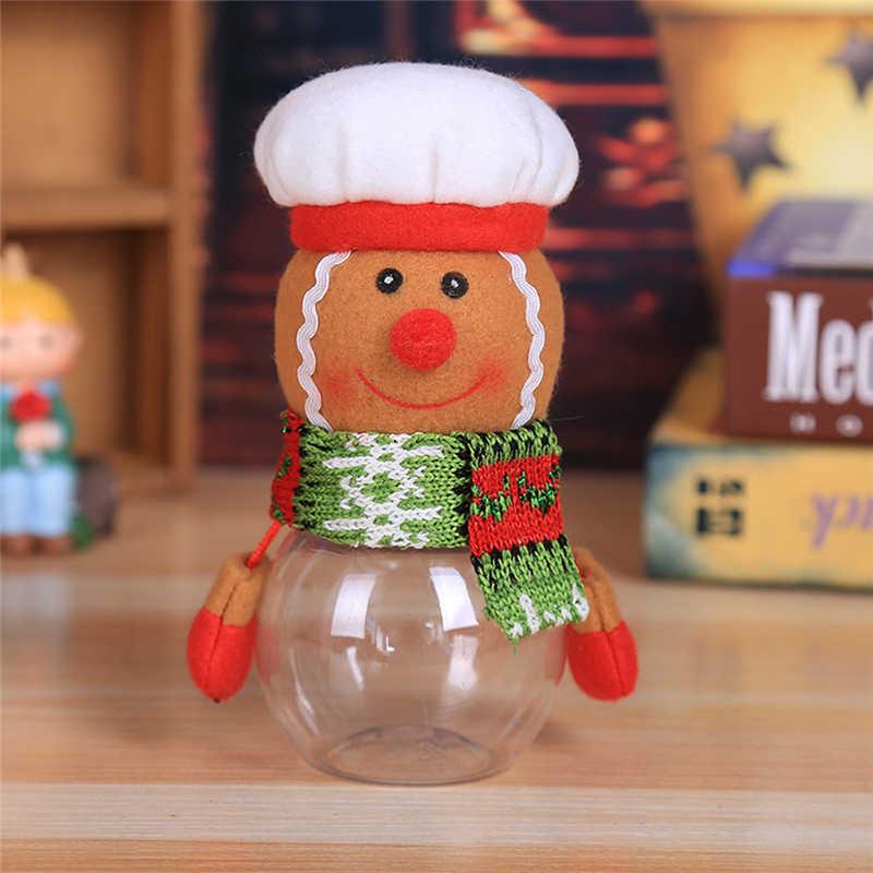 2018 Hot Child Kids Christmas Candy Jar Storage Bottle Santa Bag Sweet Christmas Box Gif free shipping #2n1 (8)