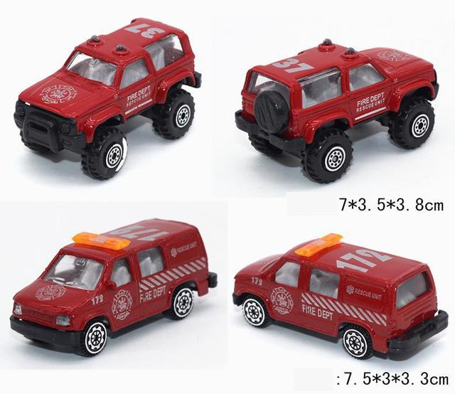 diecast cars metal model car alloy fire vehicles toy brinquedos truck model car kids dinky toys