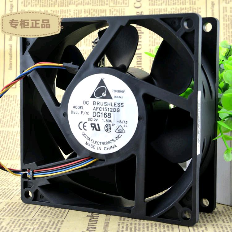 Free Shipping original  blower fans AFC1512DG 15050 15cm 150mm DC 12V 1.8A NC466 powerful server inverter cooling cooler free shipping original delta ffc1212de s96p 12cm 120mm 12038 dc 12v 2 4a industrial server inverter power supply cooling fans