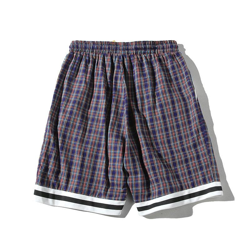 Topdudes.com - Colorful Plaid Bermuda Beach Knee-length Shorts (Copy)