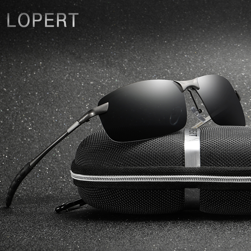 Lopert الاستقطاب طيار نظارات الرجال - ملابس واكسسوارات