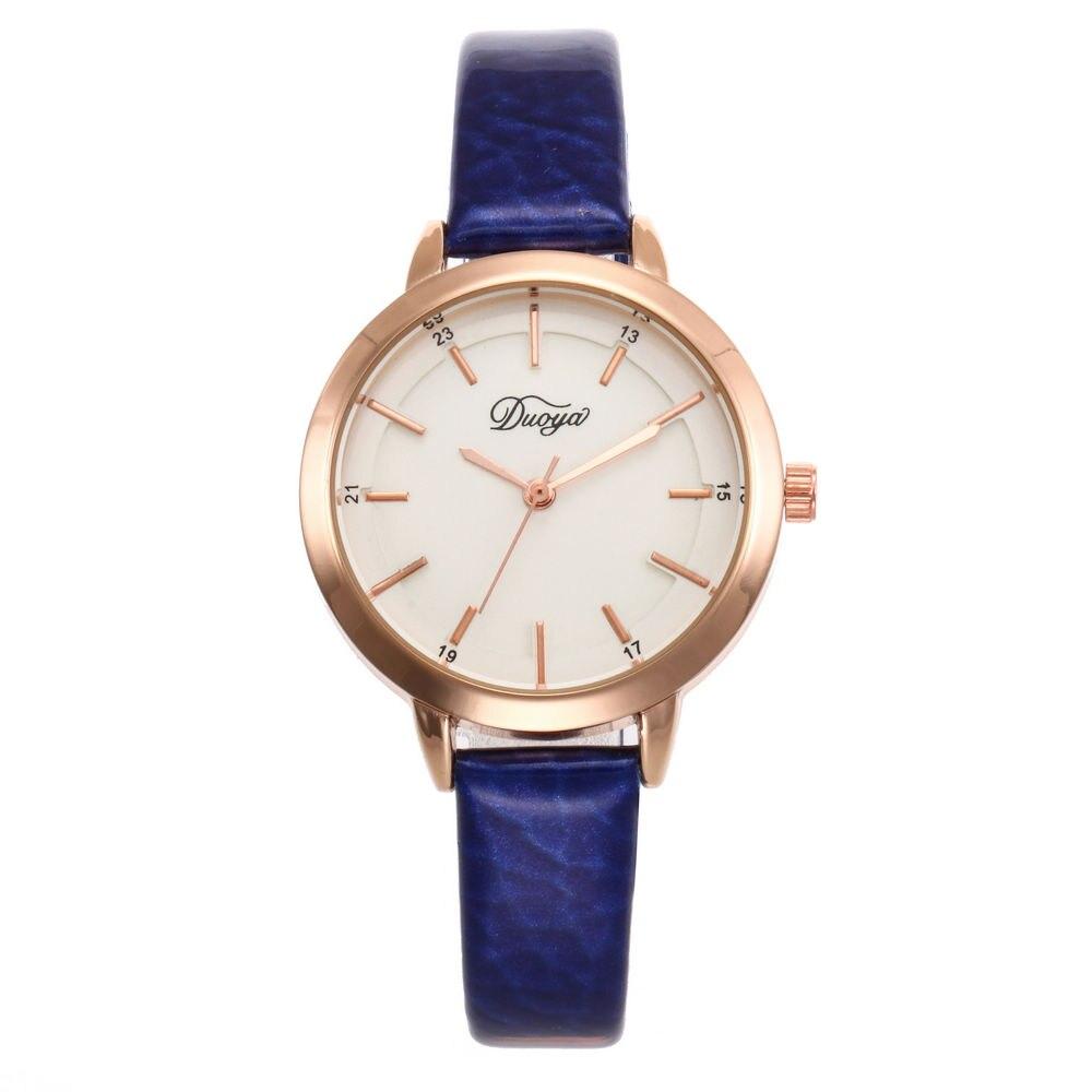 Reloj Mujer 2020 Women Fashion Gold Analog Leather Quartz Wrist Watch Ladies Watches Top Brand Luxury Wrist Watch Small Hour