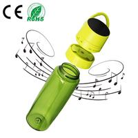 Quick Charge Waterproof Outdoor Sports Cycling Music Water Bottle Wireless Portable 500mAh Rechargeable Stereo Bluetooth Speaker