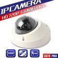 Порт POE 1.0MP Мини Купольная Сетевая Камера Безопасности 20 М ИК Vandalproof 720 P Ip-камера С Onvif P2P Облако Android IOS Онлайн Просмотр