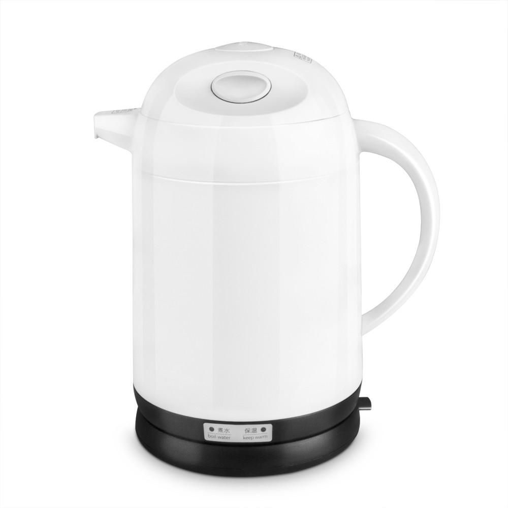 Hot - insulated double layer proof electric kettle for anti-dumping stainless steel kettles недорого