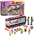 Bela 10407 Girls Friends Pop Star Tour Bus building bricks blocks New year Gift Toys for children Decool Lepin 41106
