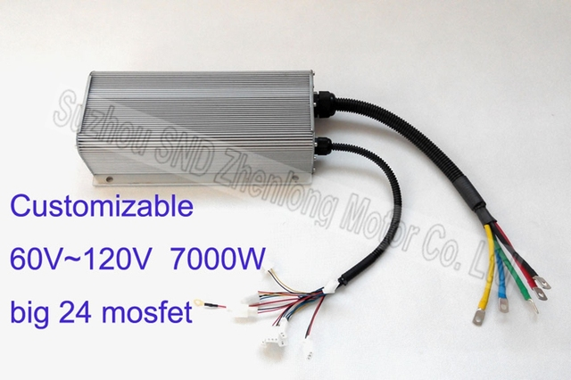96v 7000w Super E Scooter Hub Motor Controller Customized Electric Bike From Manufacturer G K038